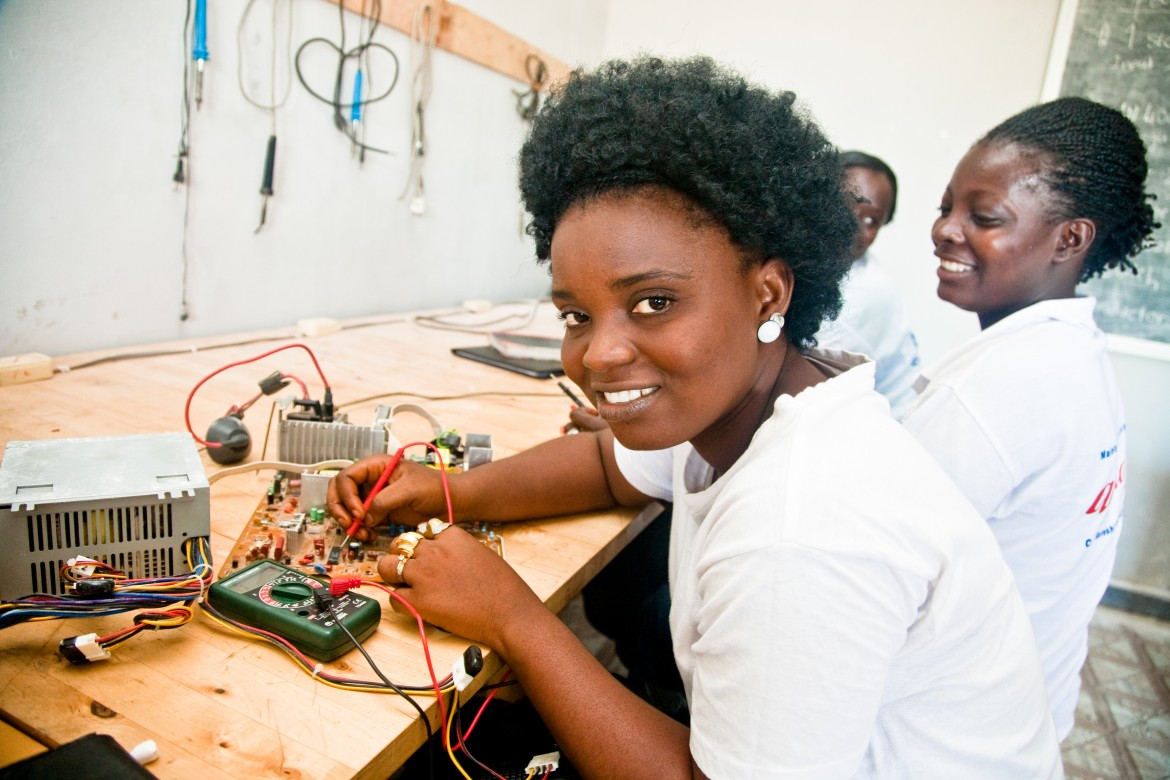 Ladies in Technology, engineers of the next generation